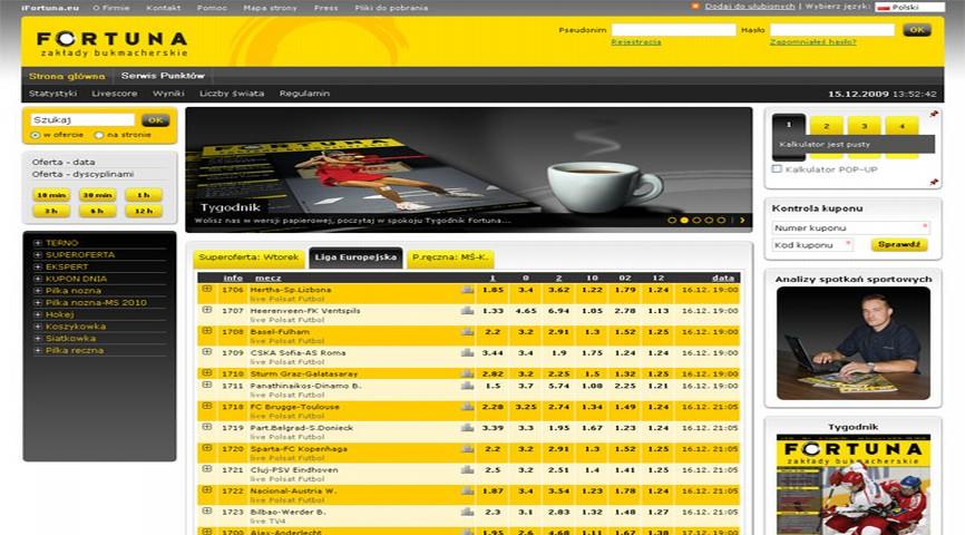 fortuna-pl-rejestracja Legalne firmy bukmacherskie Co to freebet Cashback w Fortunie Bonus na start